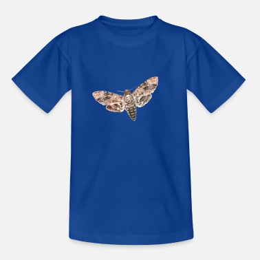 Owl Night owls - skull moth - Teenage T-Shirt