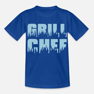 Grilling Bbq Grill chef - Grill - BBQ - Teenage T-Shirt