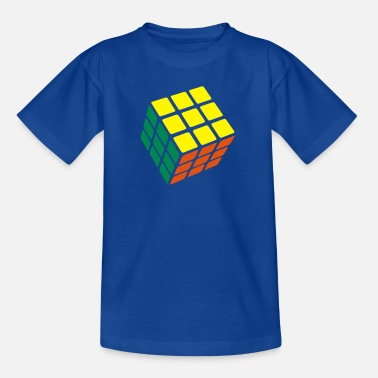 Rubiks Cube Rubik's Cube Solved - Teenage T-Shirt