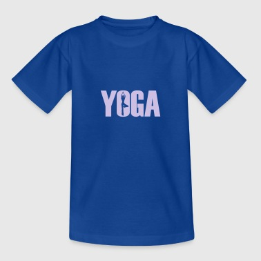 yoga - Teenager T-Shirt