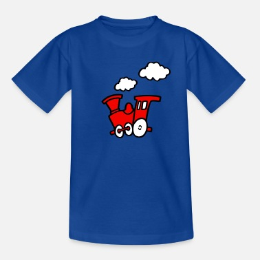 trein_cartoon - Teenager T-shirt