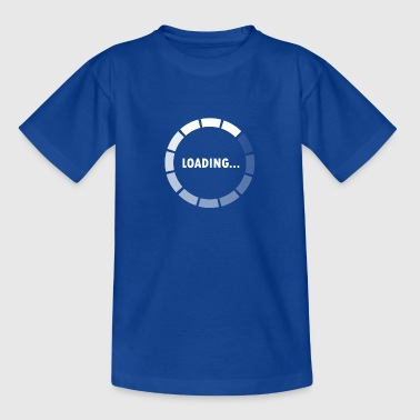 Ajax Loader - loading - waiting - Teenager T-shirt