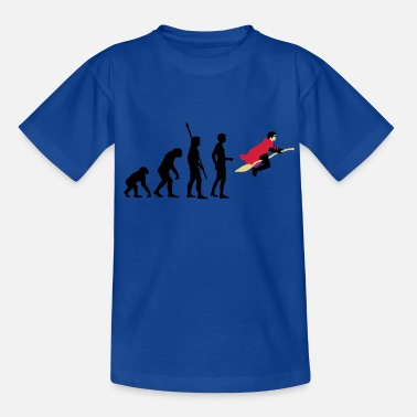 Magicien evolution_potter_3c_a - T-shirt Ado