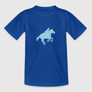 Racehorse Gallop - Teenage T-Shirt