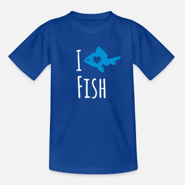 Love Fish Fish Love - Teenage T-Shirt