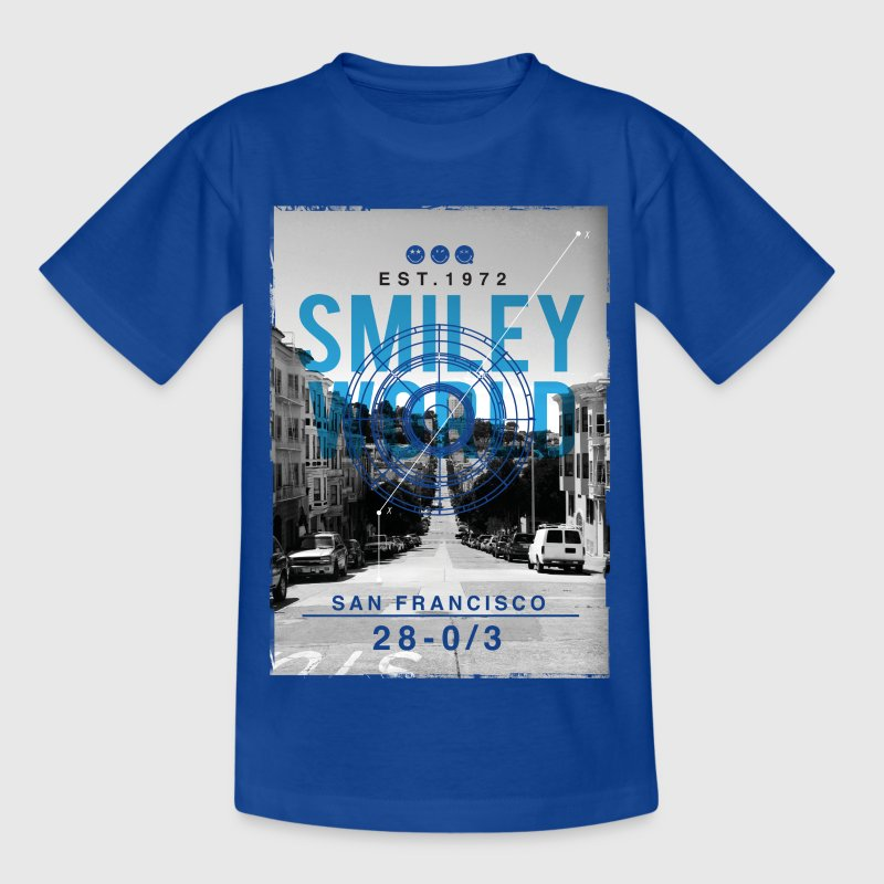 Smileyworld 'San Francisco' - Camiseta adolescente