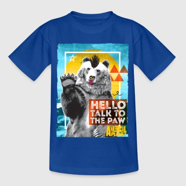 Animal Planet Polar Bear Punk Talk To The Paw - Nuorten t-paita