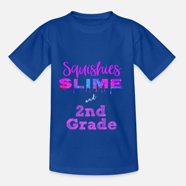 2nd Grade Squishies Slime 2nd Grade - Teenage T-Shirt