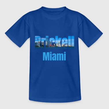 """park Avenue"" Brickell Miami, United States, Country Tourist Gifts - Teenage T-Shirt"