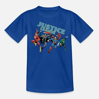 League Justice League Character Mix - Teenager-T-shirt