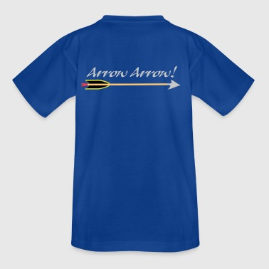 Arrow Arrow Allo Allo Archery by Patjila - T-shirt Ado
