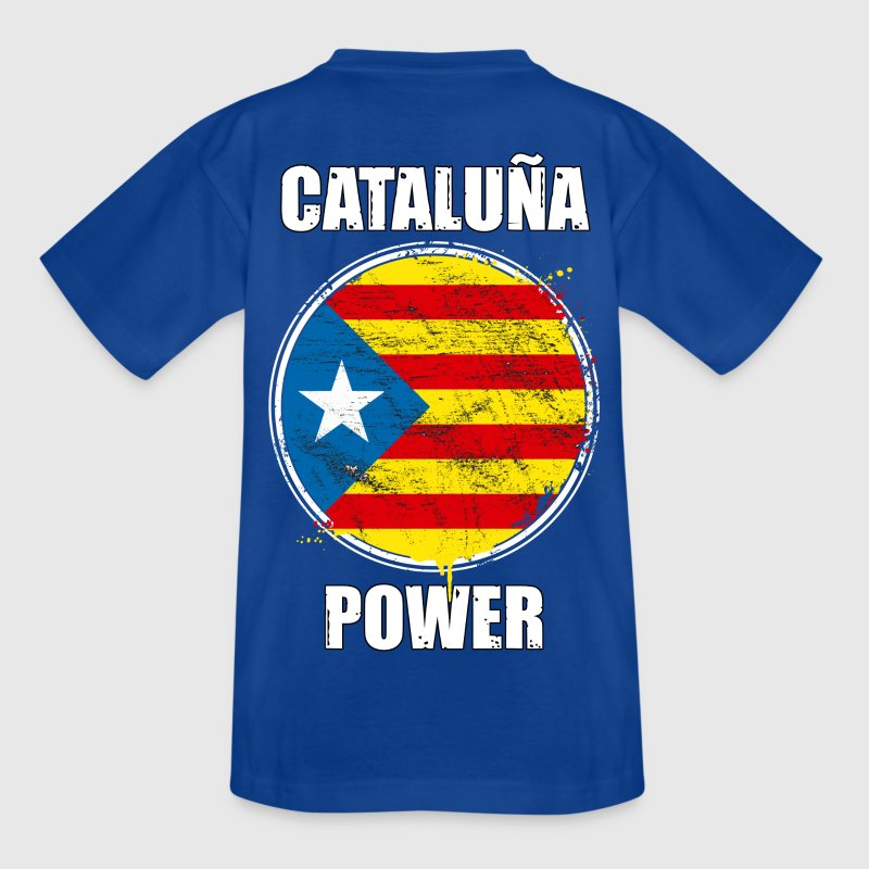 cataluña power 02 - Camiseta adolescente