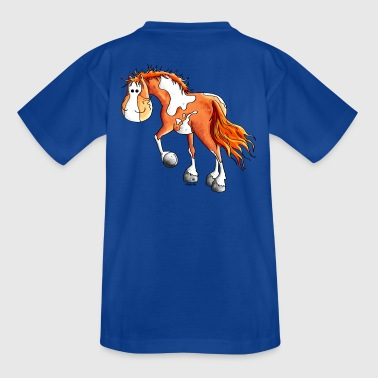 Pinto - Western paard - Teenager T-shirt