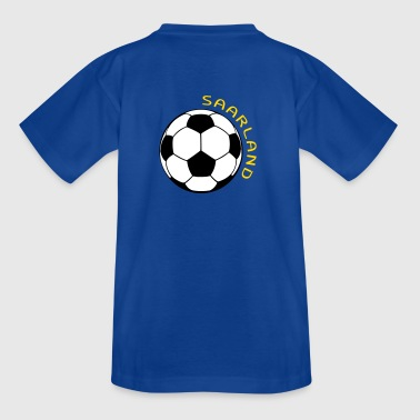 Saarland Fußball Fan Shirt - Teenager T-Shirt