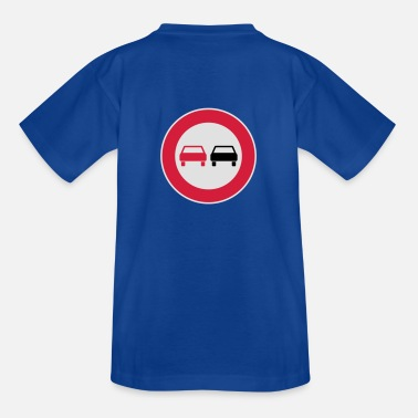 Traffic No passing - Teenage T-Shirt