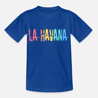 Rock Cubain HAVANA HAVANA CUBA CAPITAL CITY - T-shirt teenager