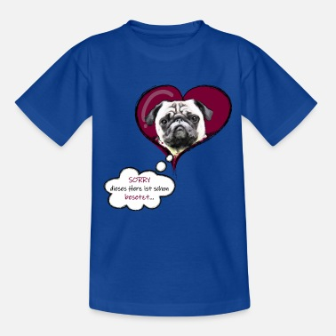 lovely pug - Teenager T-Shirt