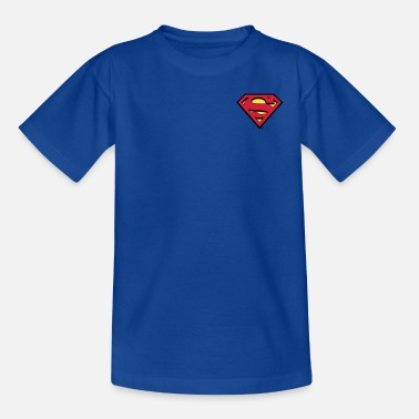 Superman Superman S-Shield logo small - T-shirt teenager