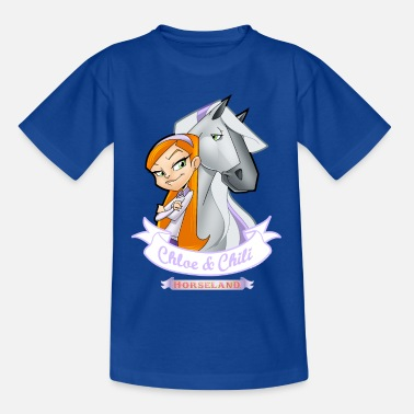 Horseland Chloe & Chili - Teenager T-Shirt