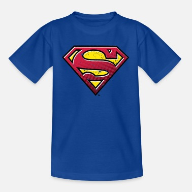 Superman Superman S-Shield Used Look 2 teenager's T-shirt - T-shirt teenager