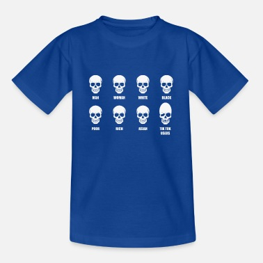 Meme Skull meme - Teenage T-Shirt