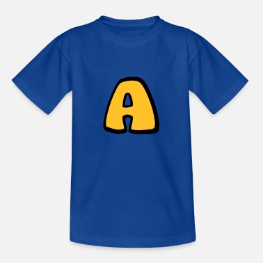 Alphabet Alphabet A - Teenage T-Shirt