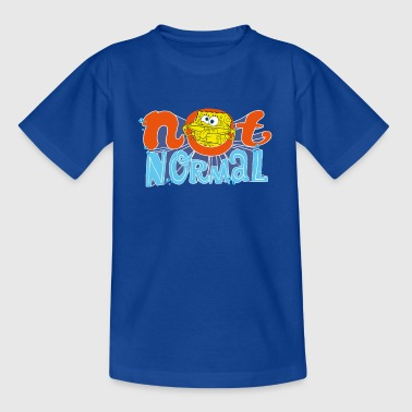 Mens' Shirt SpongeBob 'Not Normal' - Teenager T-Shirt