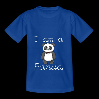 Panda shirt kids - Teenage T-shirt