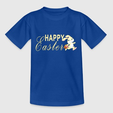 Easter bunny bunny easter eggs kids gift idea - Teenage T-shirt