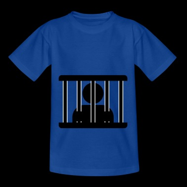 Hinter gittern - Teenager T-Shirt