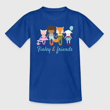 Finley and friends - Teenage T-shirt