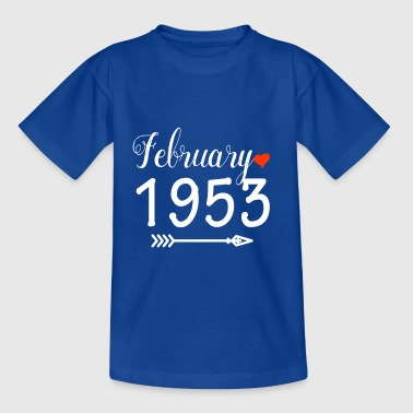 Februari 1953 - Teenager T-shirt