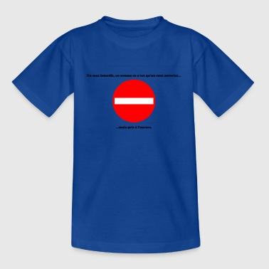 Interdit - T-shirt Ado