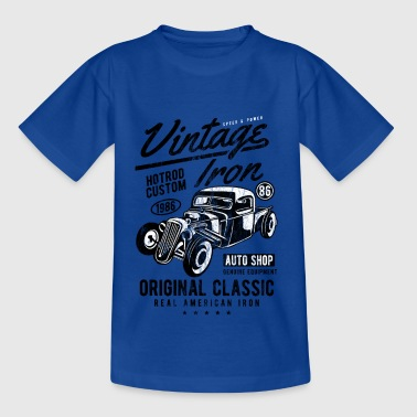 1986 HOTROD - Vintage Hotrod Car Gift Shirt - Teenage T-shirt