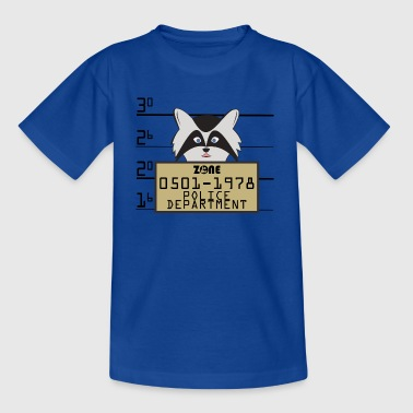 In the Zone Raccoon - Teenage T-shirt