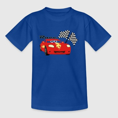 Car Race - T-shirt tonåring