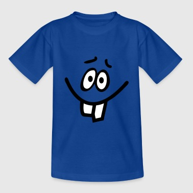 Smiley Hasenzahn - Teenager T-Shirt