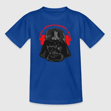 Darth Vader Overhead rot - Teenager T-Shirt