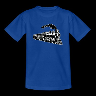 Locomotive / Locomotive 02_black white - Teenage T-shirt