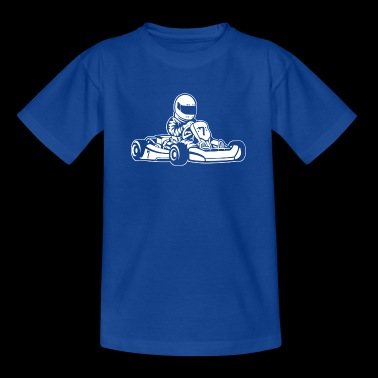Go-Kart / Go-Cart 01_white - Teenage T-shirt