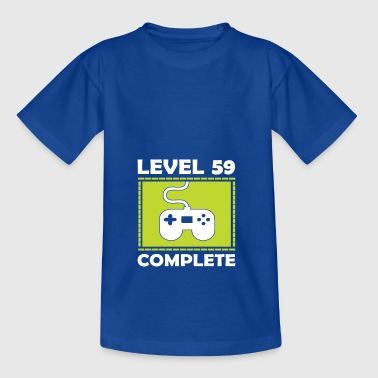 Level 59 Complete - Teenager T-shirt