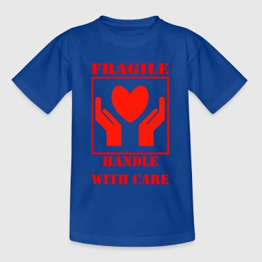 Handle with Care - Teenager T-Shirt