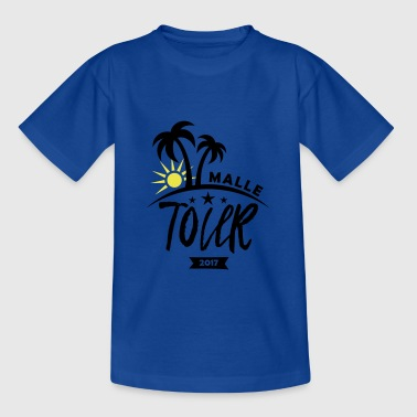 Malle Tour 2017 / Gruppenshirt - Teenager T-Shirt
