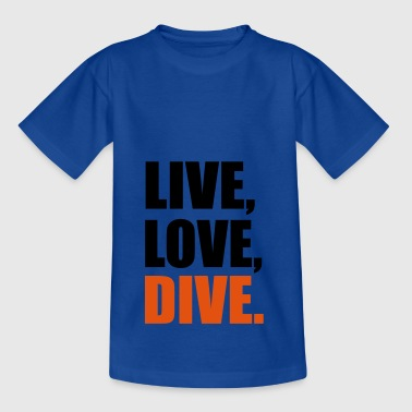2541614 13914282 dive - Teenager T-Shirt