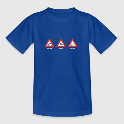 Drifting Racing Rallying - Teenager T-shirt