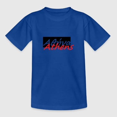 Athens in greek 1 - Teenage T-shirt
