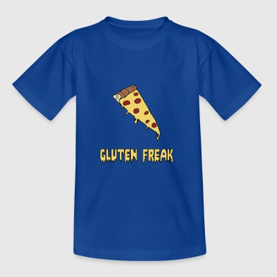 T-shirt à pizza humoristique à base de gluten - T-shirt Ado