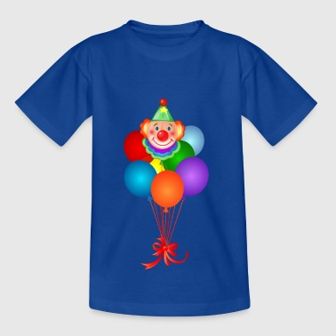 Clown und Luftballons - Teenager T-Shirt