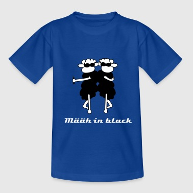 Määäh in black 3 - Teenager T-Shirt