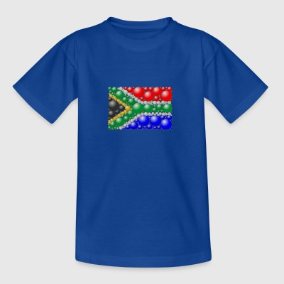 flag Sydafrika - Teenager-T-shirt